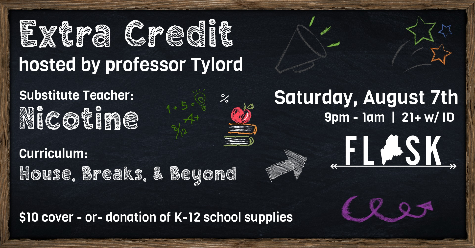 Extra credit flyer