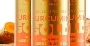PuraTHRIVE Liposomal Curcumin Gold