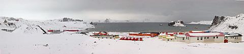 Villa Las Estrellas in Antarctica