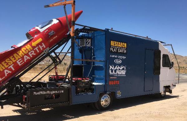 Flat Earth Rocket Motor Home