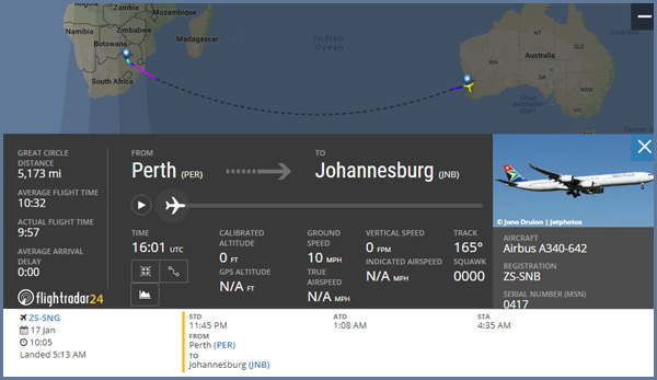 Airplane flights in southern hemisphere prove the flat earth deception here is a flight from redcliffe australia to johannesburg south africa flight time publicscrutiny Images