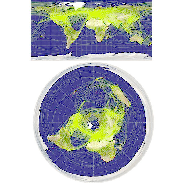 Mercator map proves flat earth is impossible