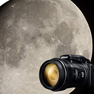 Nikon P1000 moon photo