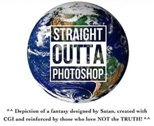 Nathan Roberts Globe CGI Straight Outta Photoshop