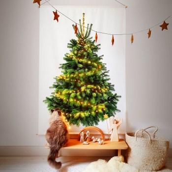 Tiny Trees kerstboom met kat