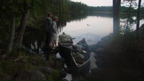 The last evening as Curt and I scope the fishing prospects