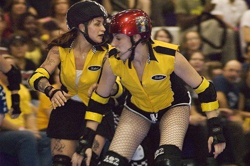 Lemony Kickit and Kandy Kakes, Bronx Gridlock 2007. Photo by Asa Frye.
