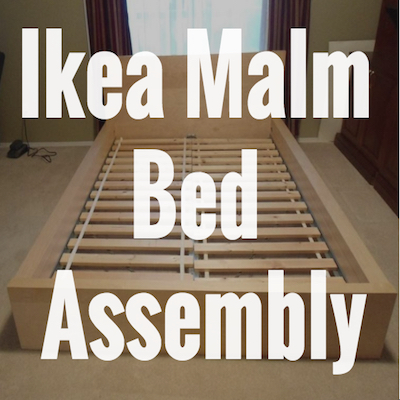 Ikea Malm Bed Assembly2