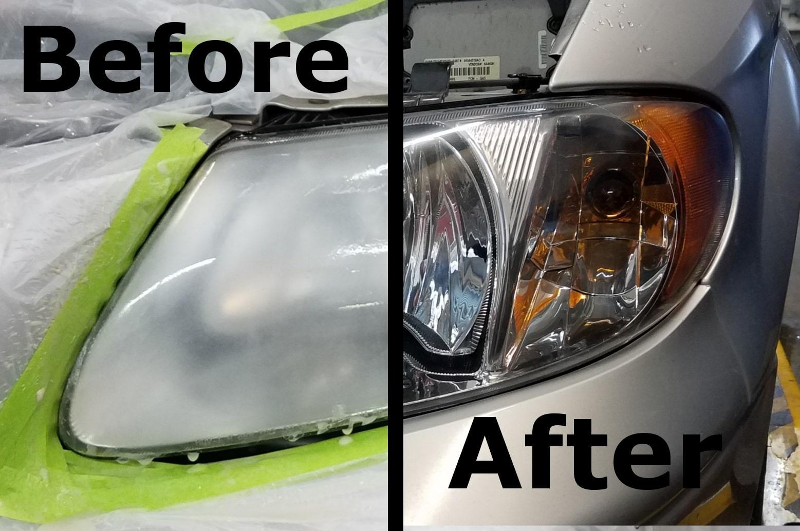 Oxidized Plastic Repair