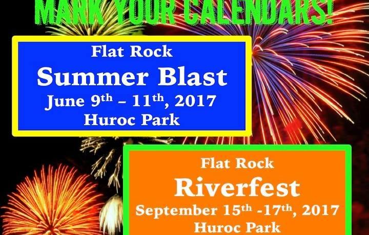 2017 Flat Rock Riverfest