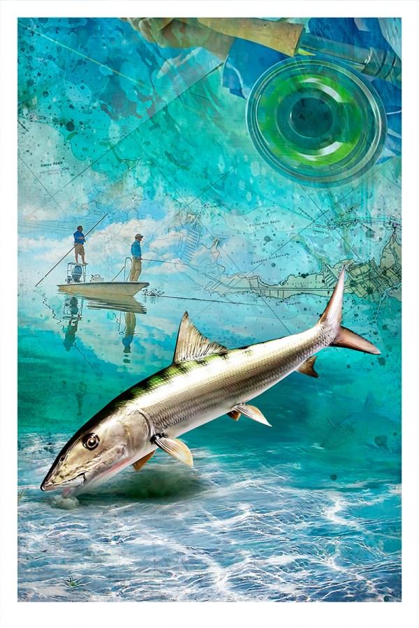 bonefish-art