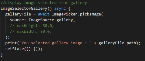 Image Picker Code