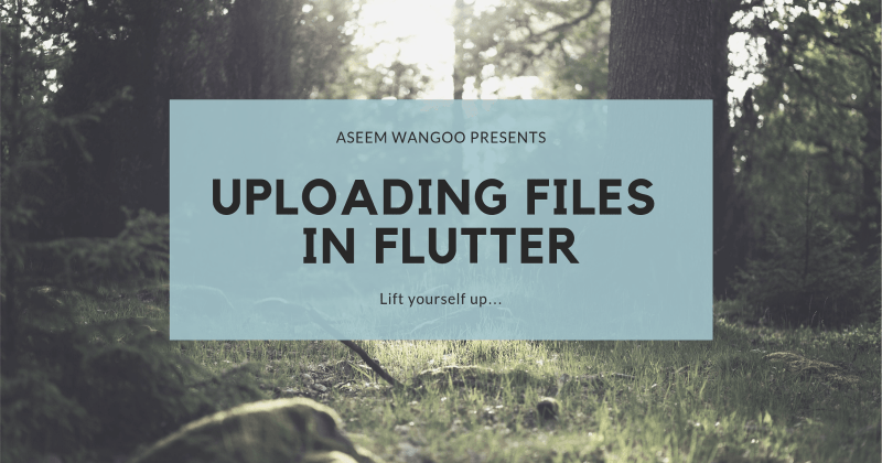 Firebase, Cloud Storage and Flutter