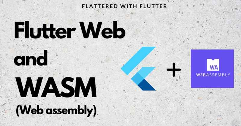 Flutter Web and WASM