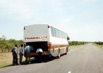 Flat Tire in Zimbabwe