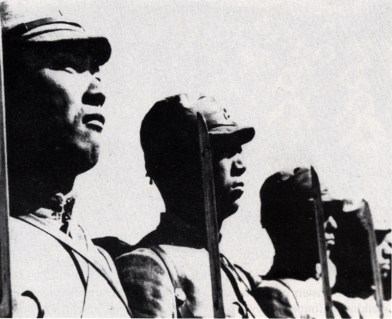 Japanese Soldiers Invade
