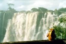 Bruce at Vic Falls