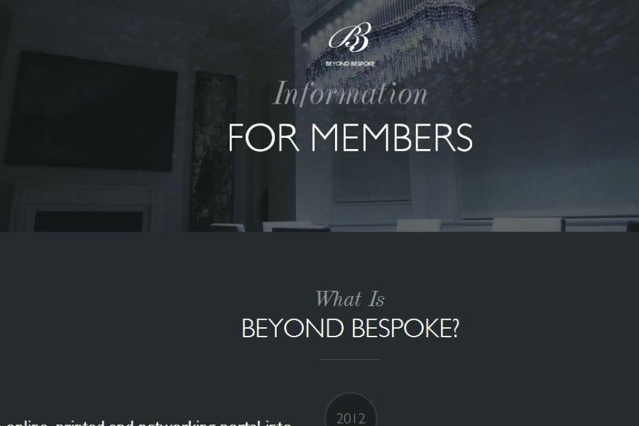 Beyond Bespoke Members Information