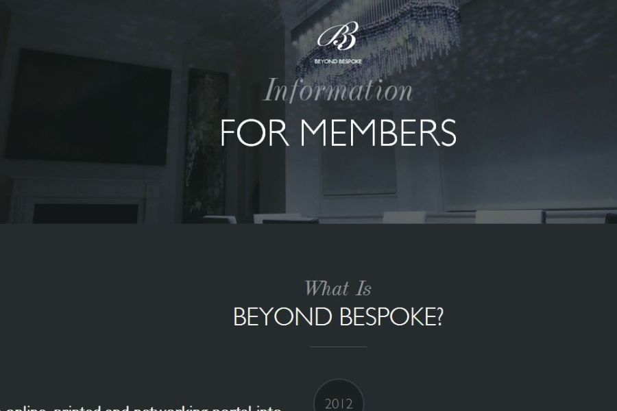 Beyond Bespoke Members Information