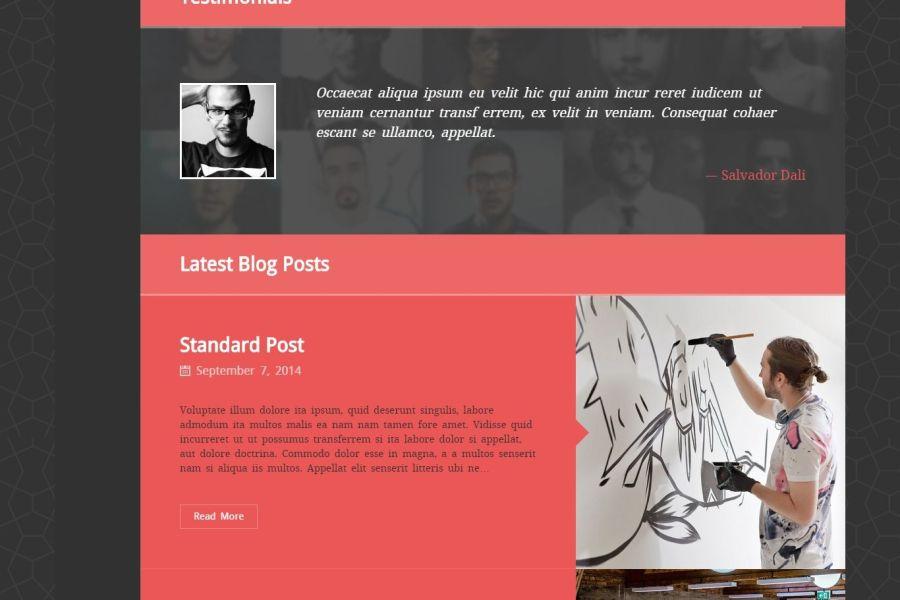 Spider - Wordpress Theme