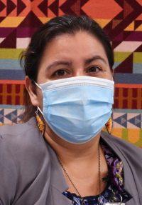 Mona Zuffante, the Winnebago Tribe's public health director.