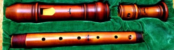 Flauta de pico de Fred Morgan según Debey