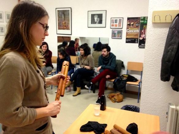 Féodora and the flauto doppio