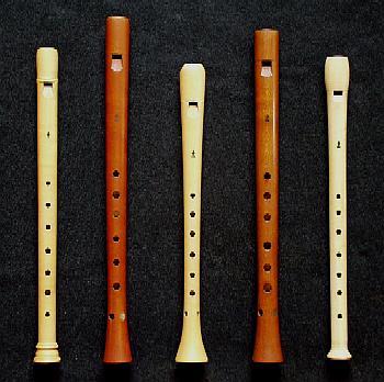 Réplicas de Handfluyt o flauta de Van Eyck.