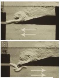 05 Interacción entre el chorro de aire y la columna del interior del tubo