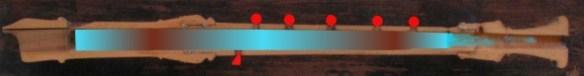 15 Ejemplo del doble nodo en la digitación del la