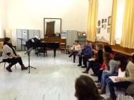 Dan Laurin recorder masterclass in Sevilla - Marta Barragán