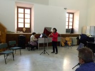 Dan Laurin recorder masterclass in Sevilla - Arcelia Sáez
