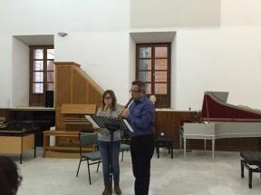 Dan Laurin recorder masterclass in Sevilla - Olga Rodón