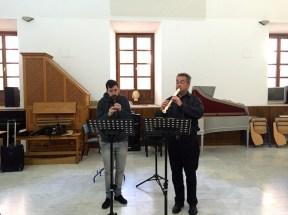 Dan Laurin recorder masterclass in Sevilla - Gonzalo Llao