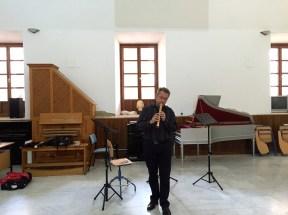 Post lessons' short recital