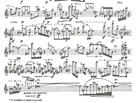Loui Andriessen (*1939), Sweet for Recorders (1964) - fragmento