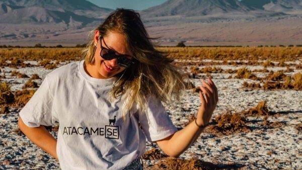 T-shirt Natureza Andina FlaviaBia Expediciones Atacama