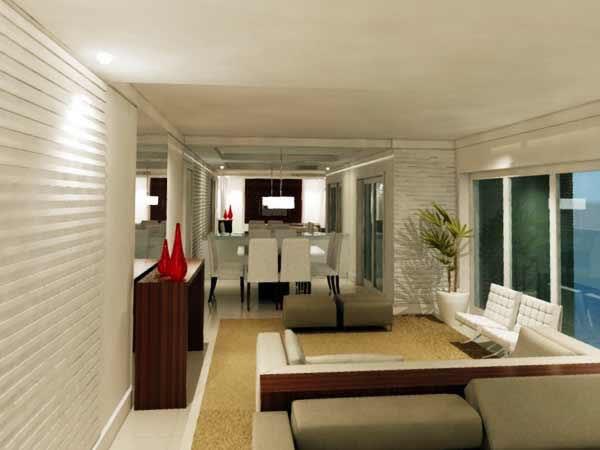 arquitetura decoração interiores sala de estar morumbi sp