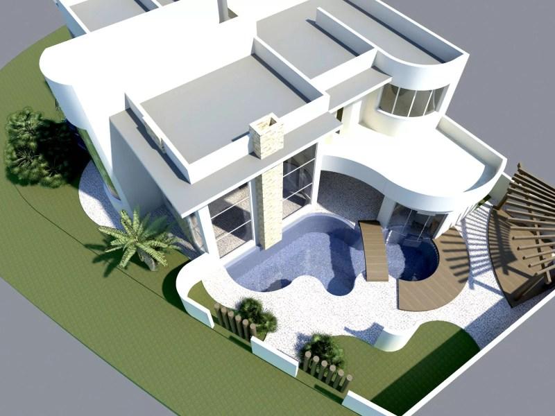 Projetos de Casas - Casa Ibi Aram - Itupeva - SP