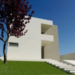 casa cubo minimalista -arquiteta alphaville flavia medina arquitetura