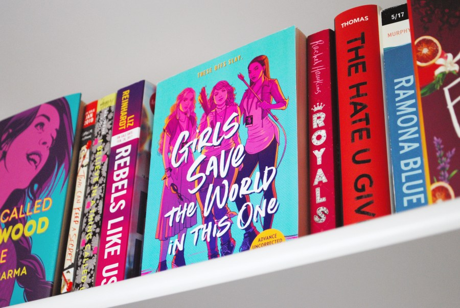 Photo of Girls Save the World in This One ARC by Flavia the Bibliophile