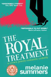 Book cover of The Royal Treatment by Melanie Summers