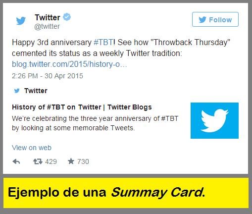Summary-Card