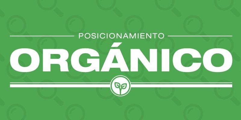 Posicionamiento web orgánico