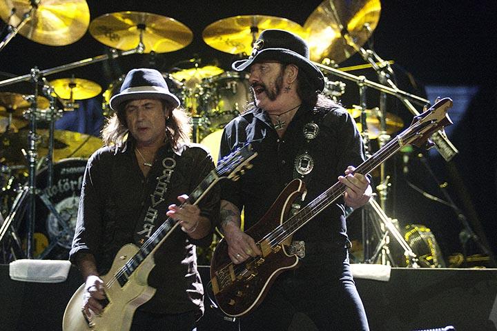 Motorhead, show realizado no Rock in Rio, Palco Mundo no dia 25 de setembro de 2011, no Rio de Janeiro/RJ/Brasil