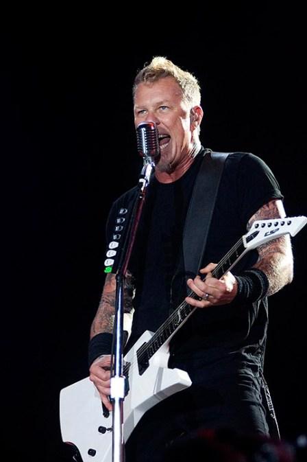 Metallica, show realizado no Rock in Rio, Palco Mundo no dia 25 de setembro de 2011, no Rio de Janeiro/RJ/Brasil