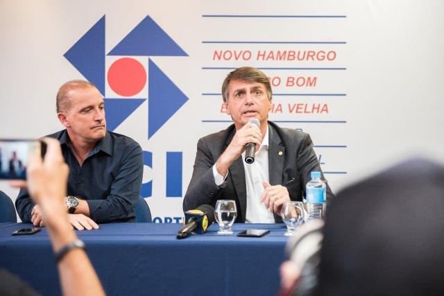 BOLSONARO CONFIRMA NOME DE ONYX NA CASA CIVIL