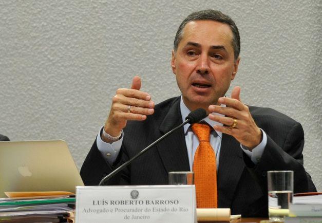 """LUÍS ROBERTO BARROSO CRITICA A """"EUFORIA DOS CORRUPTOS E SEUS PARCEIROS."""""""