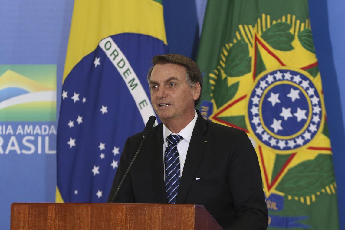 JAIR BOLSONARO DIZ QUE SEM FAKE NEWS,TERIA VENCIDO ELEIÇÃO COM MAIOR NÚMERO DE VOTOS.