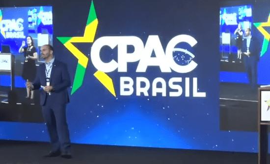 EDUARDO BOLSONARO E ONYX TENTAM AFINAR DISCURSO DA DIREITA